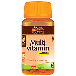 My Country - Multivitamin od 10 let - 60 tablet