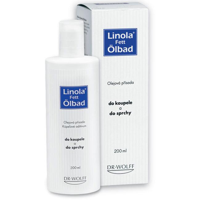 Linola Linola Fett Ölbad - Olejová přísada do koupele