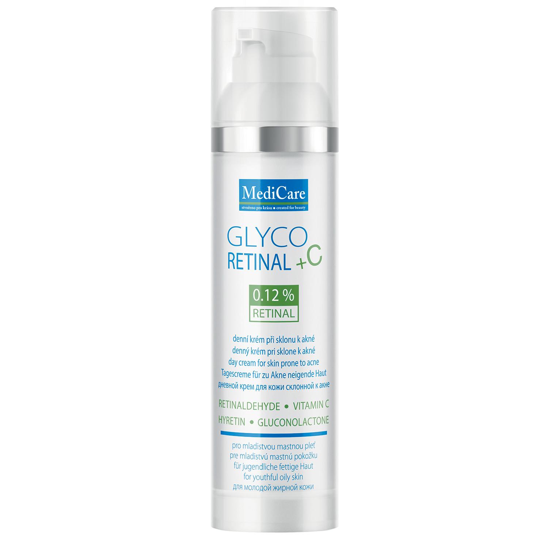 Syncare GlycoRETINAL +C - krém na mastnou a smíšenou pleť mladých - UV filtr