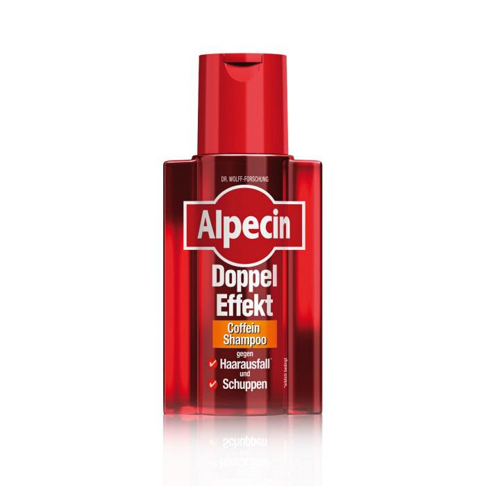 Alpecin Kofeinový šampon proti lupům a vypadávání vlasů - Alpecin Double Effect