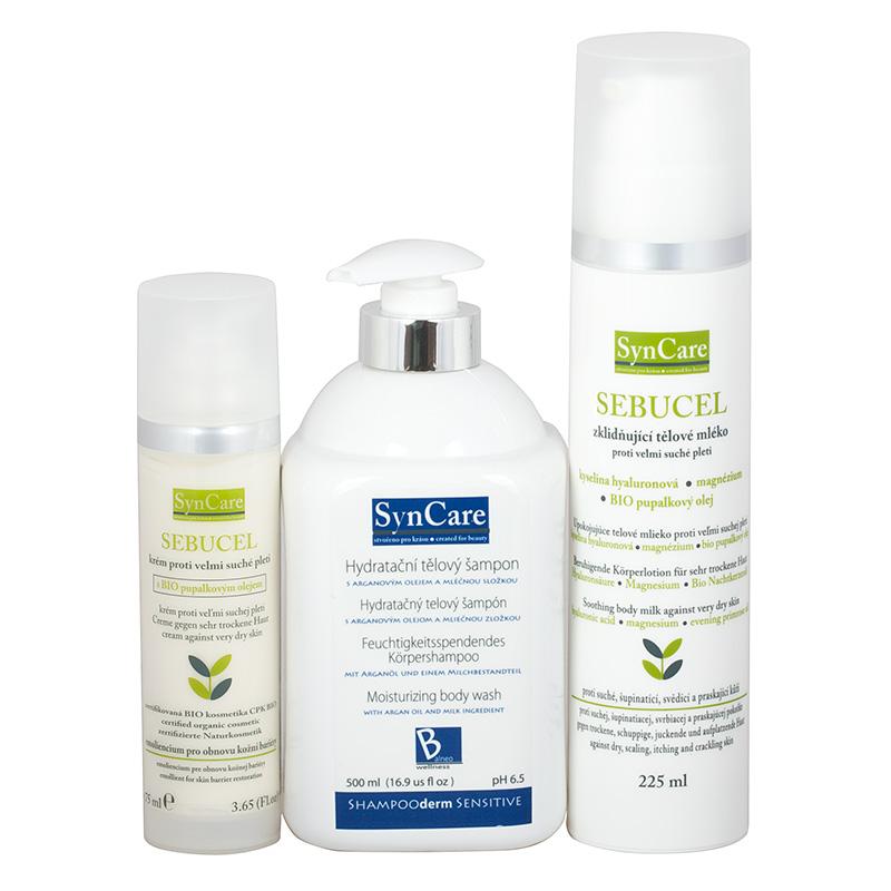 Syncare Sada Sensitive pro extrémně citlivou a atopickou kůži