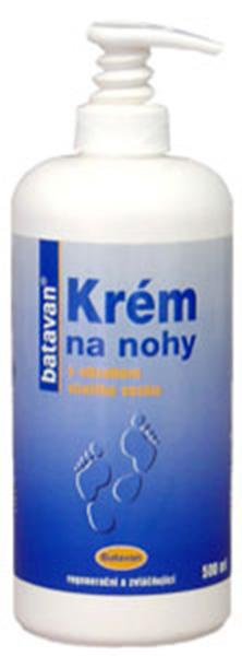 Batavan Krém na nohy - kabinetní balení s pumpičkou