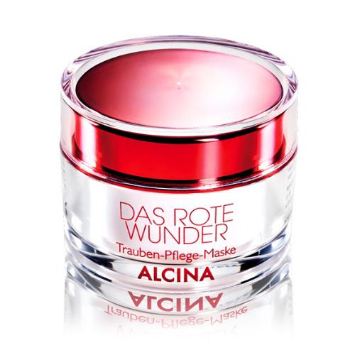 Alcina Červený zázrak - Hroznová pleťová maska