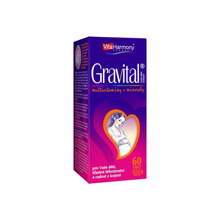 Vitaharmony Gravital® - multivitaminy pro těhotné a kojící ženy