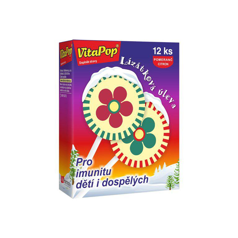 Vitaharmony VitaPop® - lízátková úleva při nachlazení, citrus