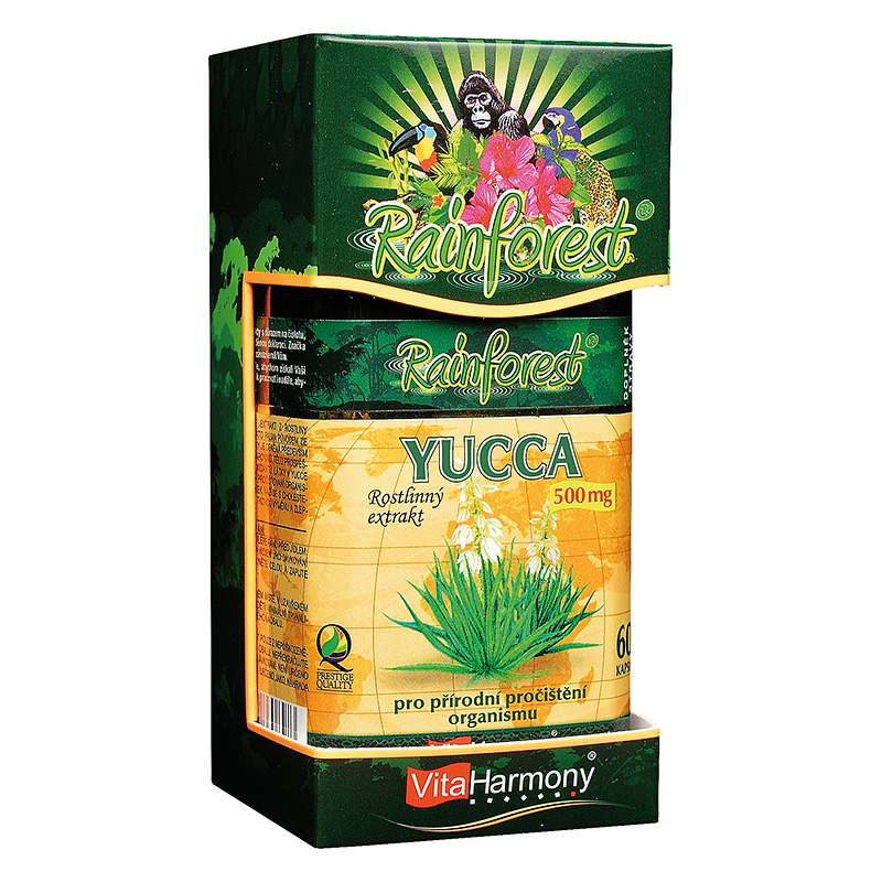 Vitaharmony Yucca 500 mg
