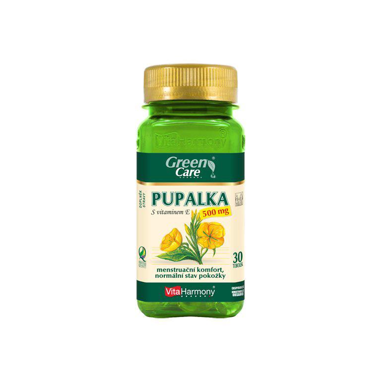 Vitaharmony Pupalka 500 mg s vitaminem E