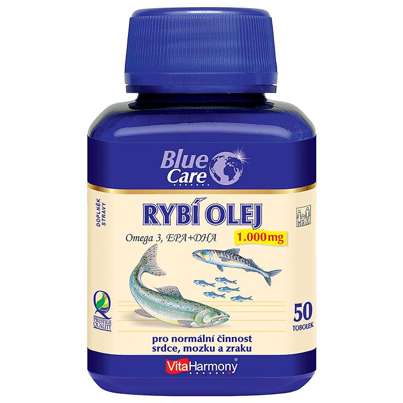 Vitaharmony Rybí olej (Omega 3) 1.000 mg