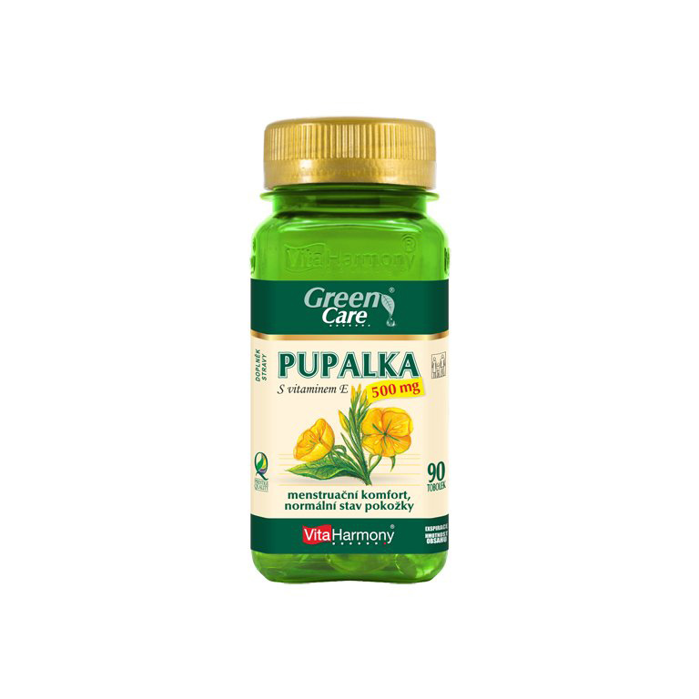 Vitaharmony Pupalka 500 mg s vitaminem E - ekonomické balení