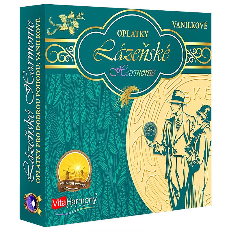 Vitaharmony Lázeňské Harmonie New - vanilkové oplatky