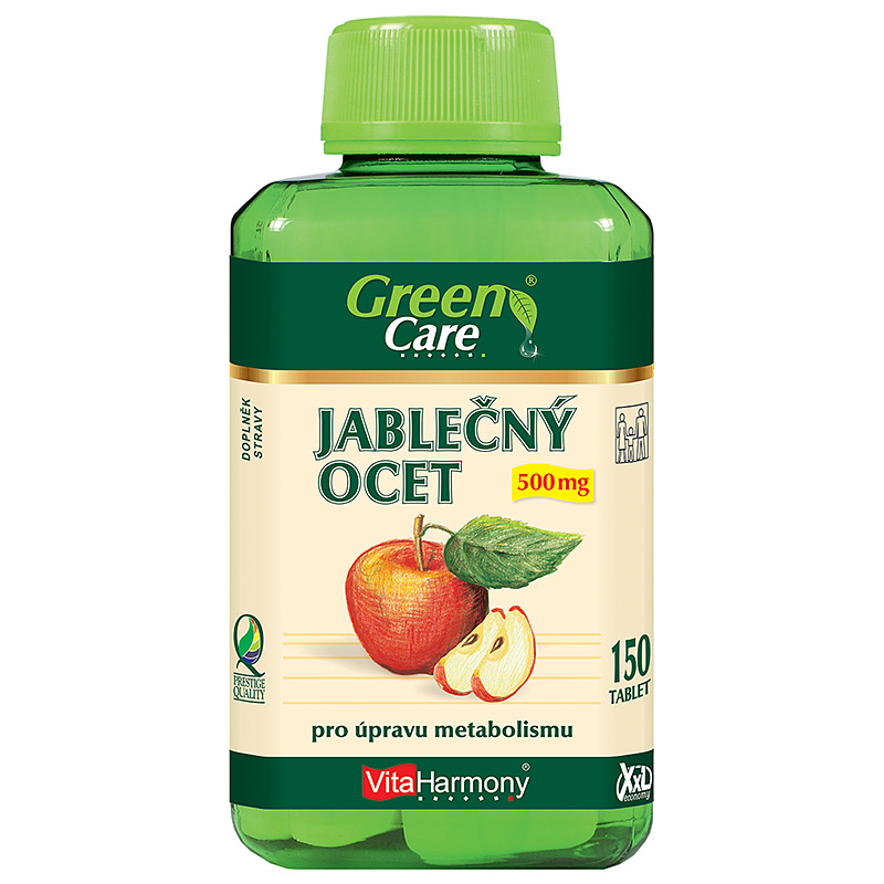 Vitaharmony Jablečný ocet 500 mg - XXL economy
