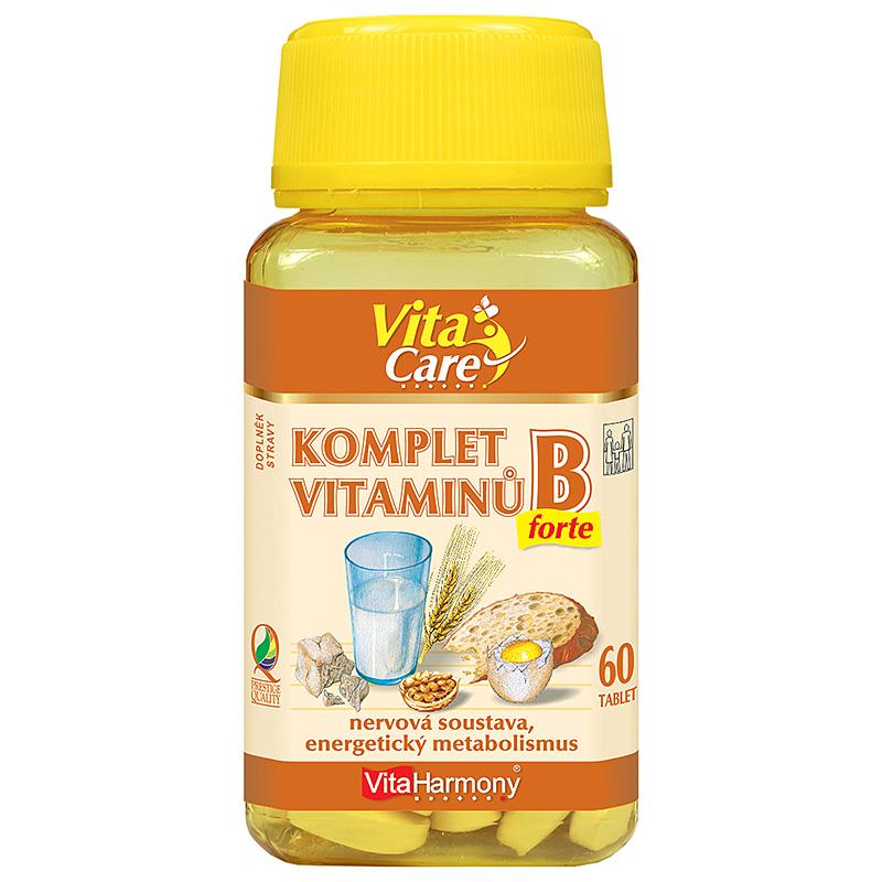 Vitaharmony Komplet vitaminů B - Forte