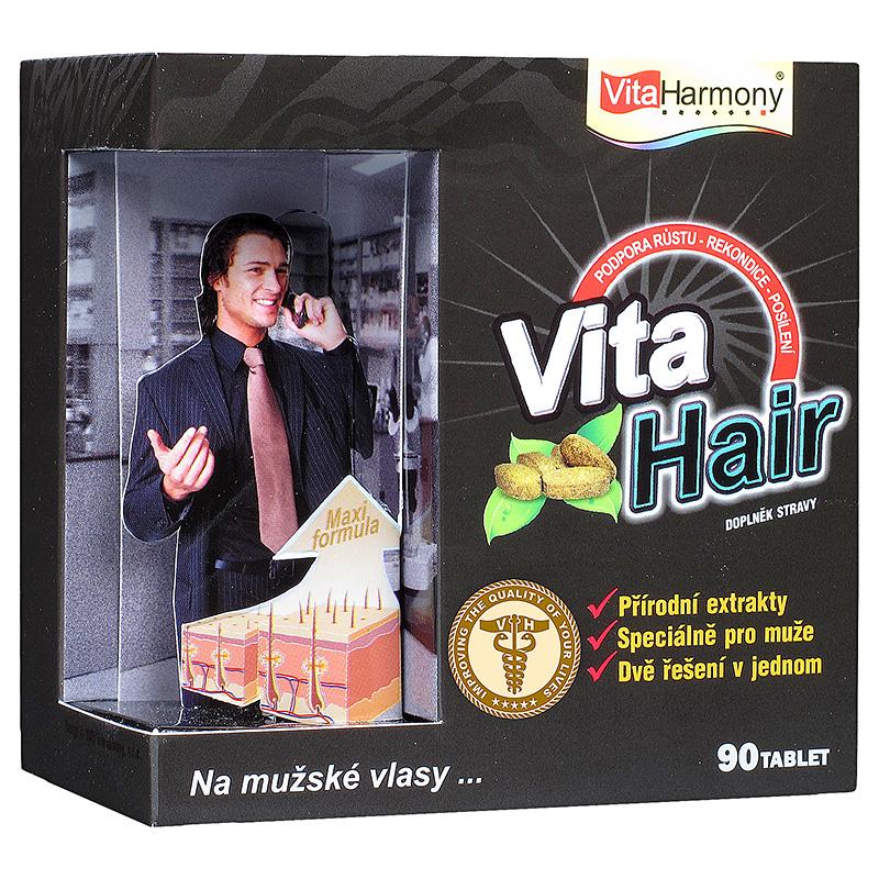 Vitaharmony VitaHair® - vlasový stimulátor pro muže