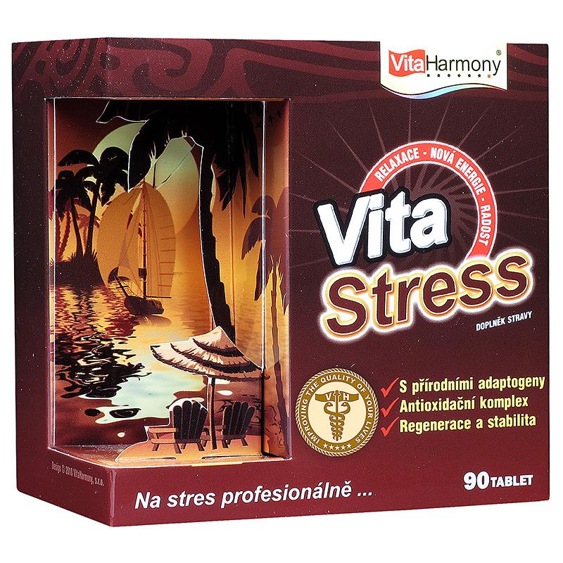 Vitaharmony VitaStress® - při nadměrné a stresové zátěži