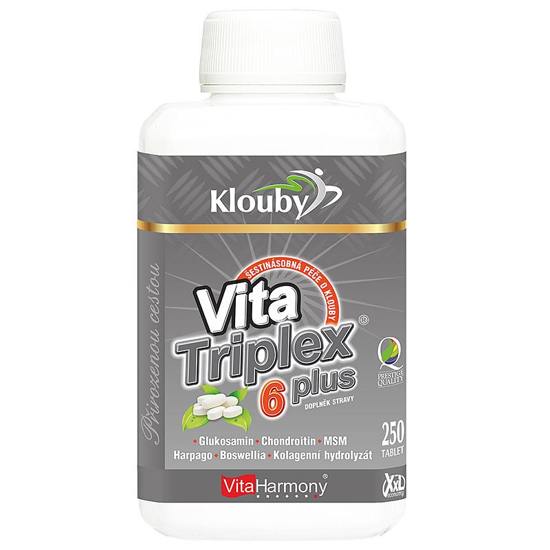 Vitaharmony VitaTriplex® 6 plus - šestinásobná ochrana kloubů, XXL economy