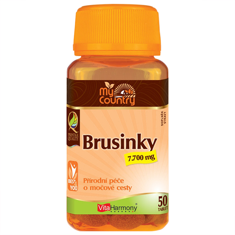Vitaharmony My Country - Brusinky 7.700 mg