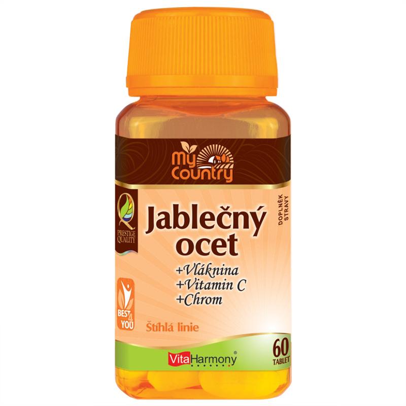 Vitaharmony My Country - Jablečný ocet + vláknina + chrom + vitamin C