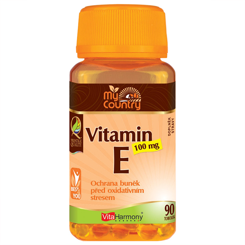 Vitaharmony My Country - Vitamin E 100 mg