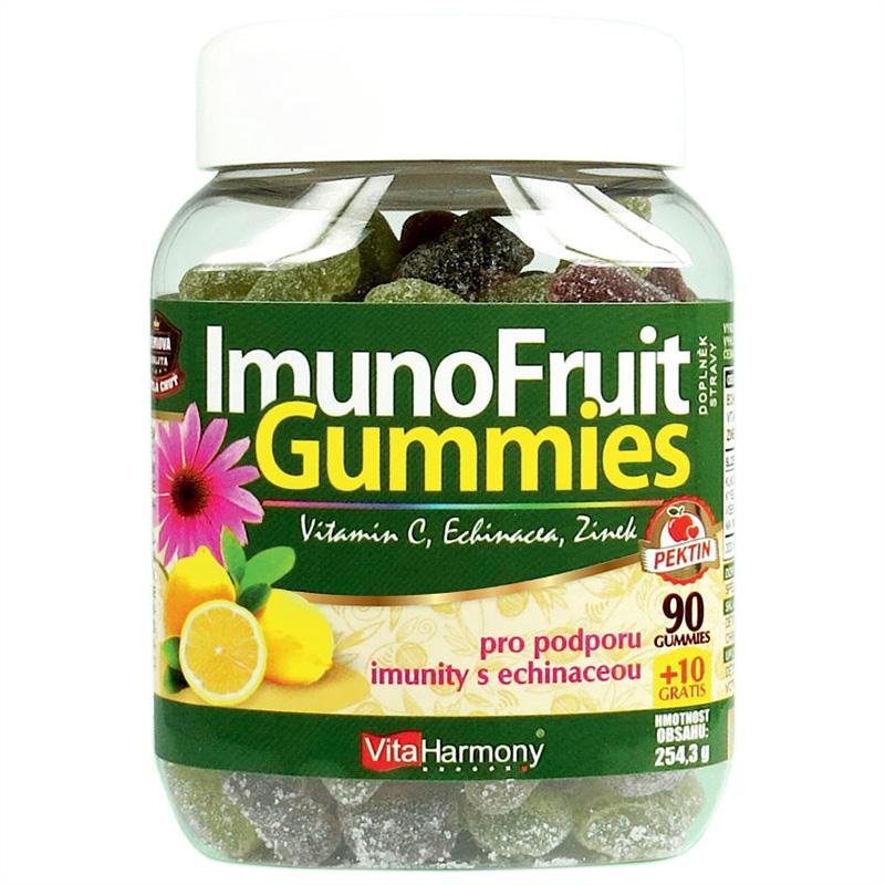Vitaharmony ImunoFruit Gummies - 90+10 gummies