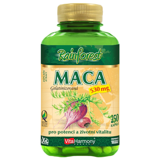 Vitaharmony Maca 500 mg, XXL economy