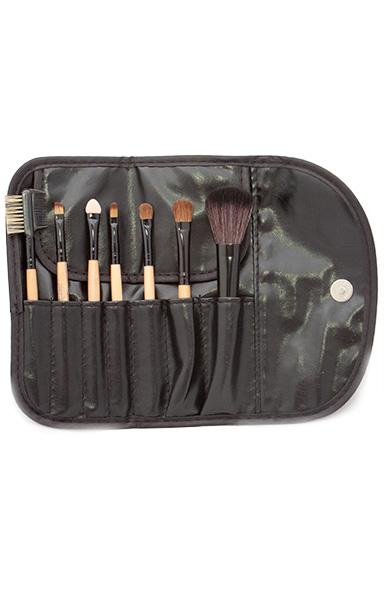 Set kosmetických štětců pro make-up - 7 ks