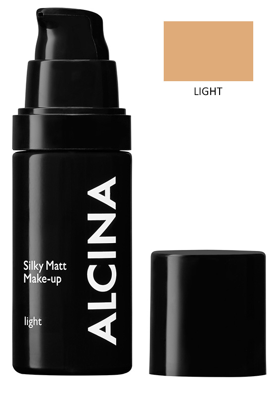 Alcina Matující make-up - Silky Matt Make-up - light