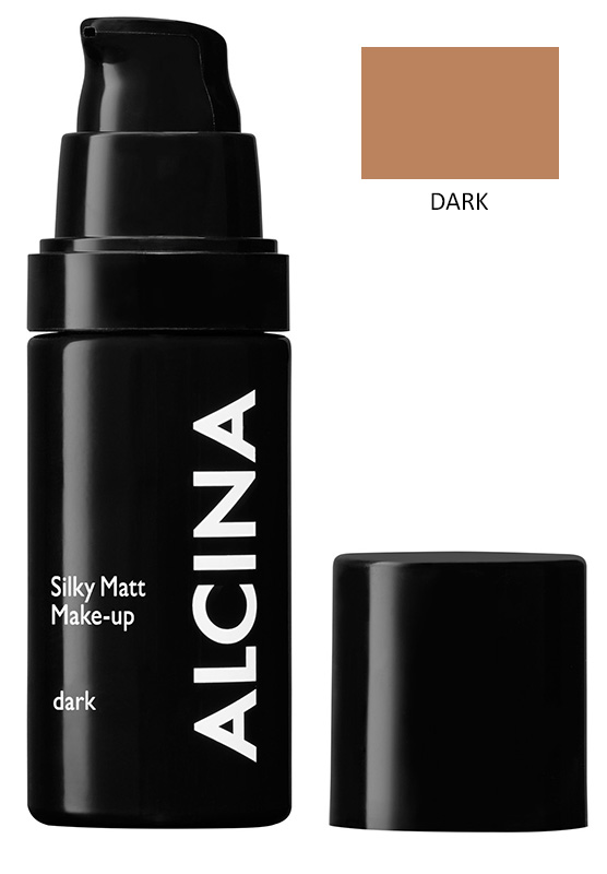 Alcina Matující make-up - Silky Matt Make-up - dark