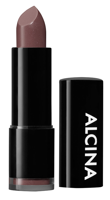 Alcina Tónovací rtěnka - Shiny Lipstick - 020 Cognac