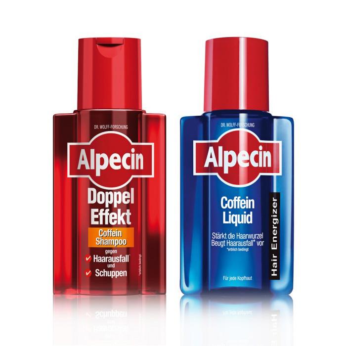 Alpecin Balíček - Double Effect + Alpecin Liquid