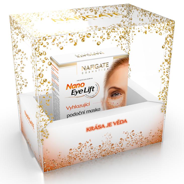 Nafigate Vánoční balíček - Nano Eye Lift - Vyhlazující podoční maska